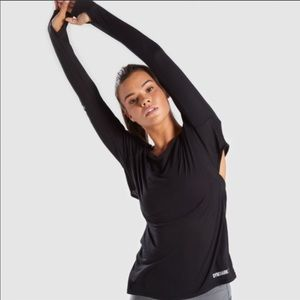 Gymshark Long Sleeve with Open Back